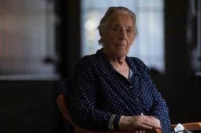 Lucía Muñoz, de 94 años, tenía 11 años cuando detuvieron y fusilaron a su madre, Catalina Muñoz.