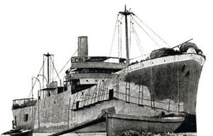 El carguero británico desembarcó en Helles 1.000 efectivos. Solo sobrevivieron 400 a la carnicería.