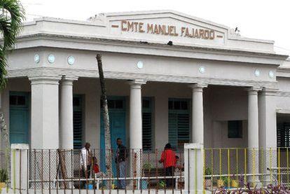 Fachada del hospital psiquiátrico de La Habana, donde 26 personas murieron de frío en enero de 2010.