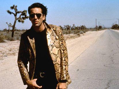 Nicolas Cage en la inquietante 'Corazón salvaje', dirigida por David Lynch en 1990.