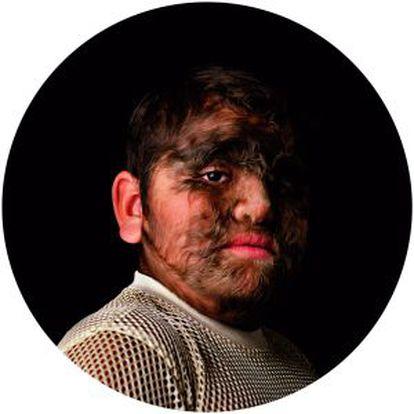 La obra 'Wolf (happily ever after)' que puede verse en Málaga.