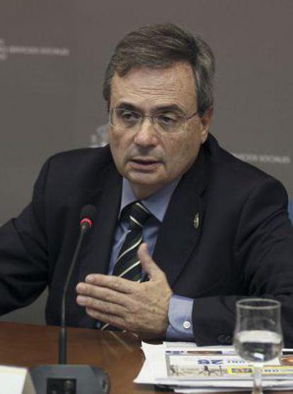 El director de la ONT, Rafael Matesanz, presenta el balance de 2013.