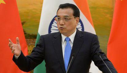 El primer ministro chino, Li Keqiang en Brasil.
