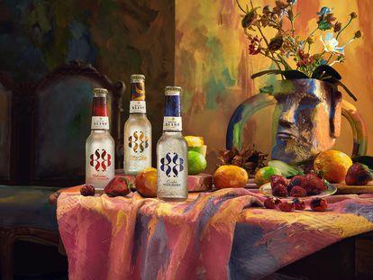 El mix perfecto: arte de primera y los sabores premium de las variedades de Royal Bliss.