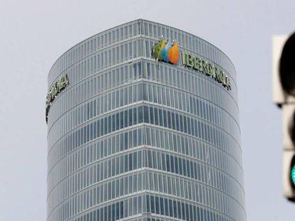 Torre de Iberdrola, sede social de la compañía eléctrica en la capital vizcaína.