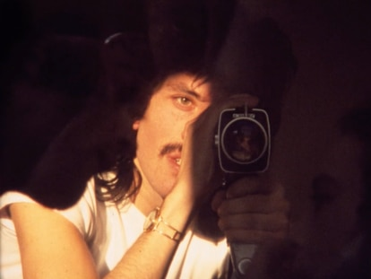 Iván Zulueta se autorretrata en uno de sus cortos.