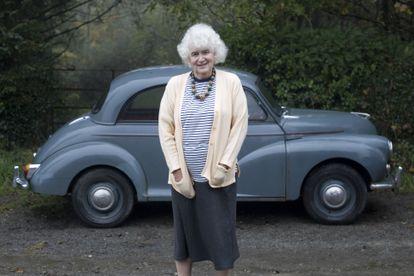 La escritora Jan Morris, en su casa de Llanystumdwy, al norte de Gales.