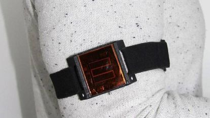 Dispositivo de células fotovoltaicas.