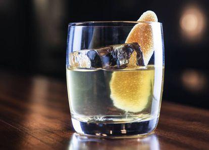 Mocktail Serendipity, en el bar Existing Conditions.