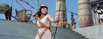 La princesa Baketamón (Gene Tierney), en la película 'Sinuhé, el egipcio'.