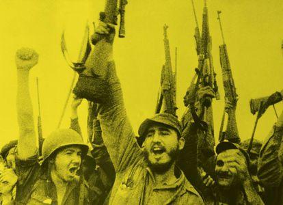 Imagen del documental 'Rebeldes de Sierra Maestra' (1957).