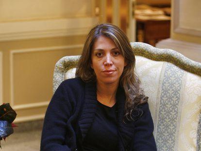 La escritora y directora de cine Lucía Puenzo, en Madrid, en 2019.