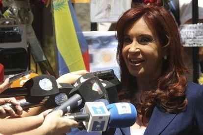 La expresidenta de Argentina Cristina Kirchner.