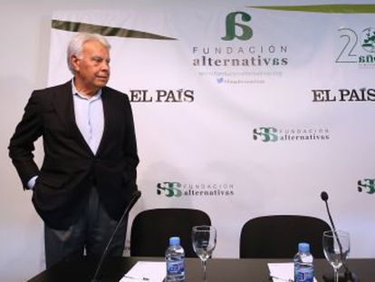 El expresidente del Gobierno asegura que está en minoría en el partido y quiere ser optimista