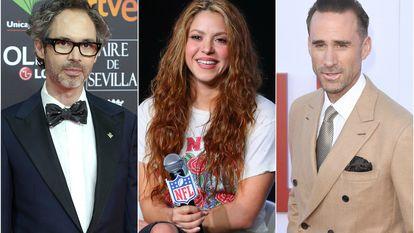 James Rhodes, Shakira y Joseph Fiennes.