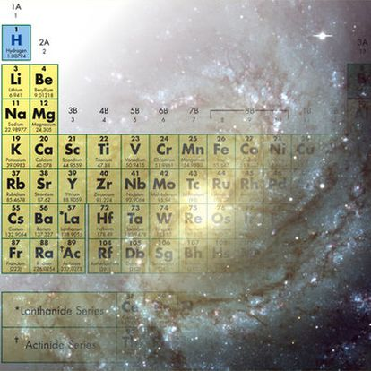 Los elementos químicos que componen todo aquello a nuestro alrededor fueron sintetizados en el pasado en el interior de las estrellas. Foto de la galaxia M83 tomada por el telescopio VLT Antu+FORS1.