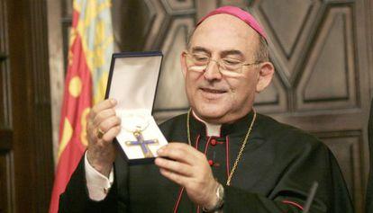Casimiro López, obispo de Segorbe-Castellón en una imagen de archivo.