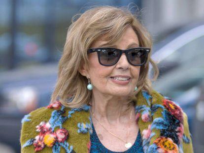Maria Teresa Campos, en Madrid, el pasado 3 de enero.