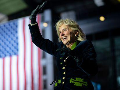 Jill Biden, primera dama de Estados Unidos, en Pittsburgh, Pensilvania, en noviembre de 2020.