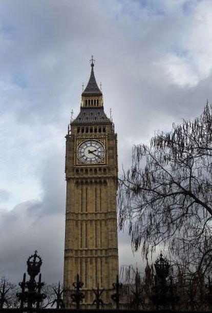 La torre del Big Ben de Londres.