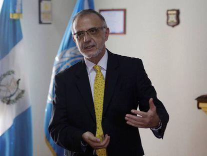 El magistrado colombiano Iván Velásquez.