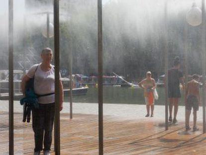 París alcanza los 42,6 grados centígrados. En Holanda, Alemania, Bélgica y el Reino Unido también se miden máximos históricos