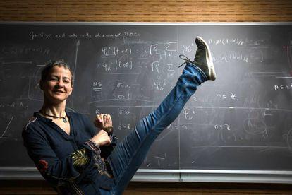 La matemática Marina Logares, en el ICMAT, en Madrid.