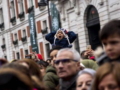 Un grupo de personas disfruta de una promoción de 'Anastasia' en Madrid.