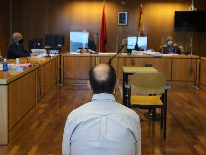 Dvd(29/09/21) Juicio en la audiencia Provincial de Madrid Foto:Víctor Sainz