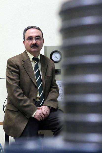 El profesor de Ingeniería Nuclear Eduardo Gallego.