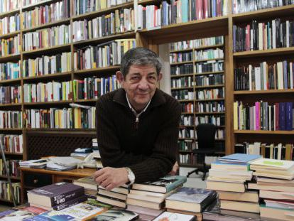 El editor Chus Visor, fundador de Editorial Visor