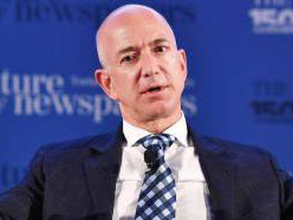 Jeff Bezos, fundador de Amazon, en una imagen de archivo.