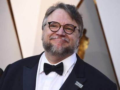 El cineasta mexicano Guillermo del Toro en la gala de los Oscar 2018.