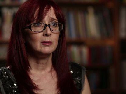 Gloria Viseras, durante la entrevista en 'Informe Robinson'.