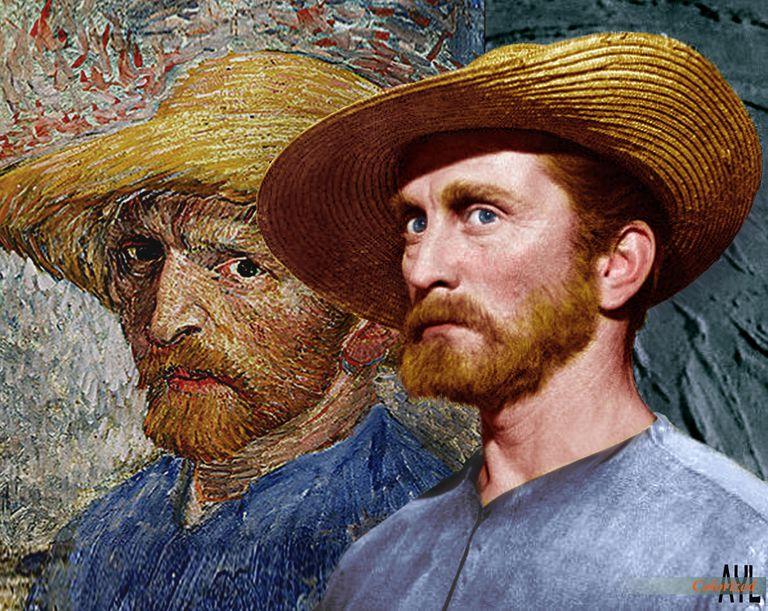 Kirk Douglas interpretando a Van Gogh en 'El loco del pelo rojo' (1956). El museo Van Gogh de Ámsterdam indaga en la complicada personalidad, los gustos y las desdichas del pintor.