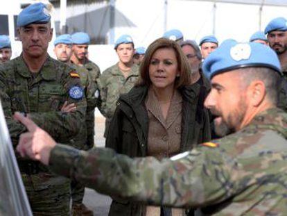 Los efectivos en misiones internacionales pasarán de 2.500 a 3.000 si el general Cebrián toma el mando de la ONU en Líbano