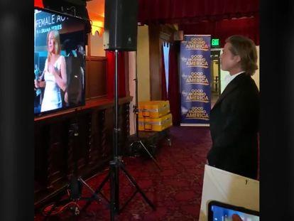 El vídeo de la reacción de Brad Pitt al discurso de Jennifer Aniston en los premios SAG