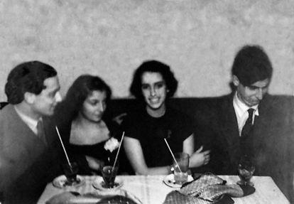 Luis Martín-Santos y Juan Benet, en una de las imágenes que se incluyen en 'El amanecer podrido'.