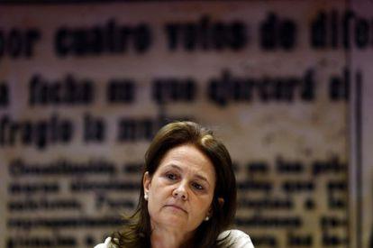 La secretaria de Estado de Educación, Monserrat Gomendio.