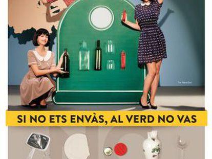 Cartel de la campaña 'Envàs on vas'