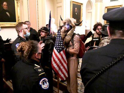Invasión del Capitolio de los Estados Unidos, el pasado 6 de enero.