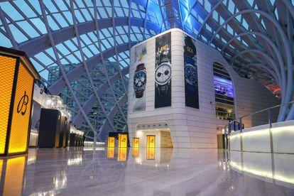 El abrumador Phoenix Center de Pekín: un edificio enorme cubierto por una espectacular estructura bulbosa hecha con 3.800 piezas de cristal.