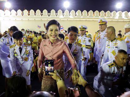 Sineenat Wongvajirapakd.i, la concubina real, el pasado 1 de noviembre.