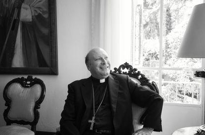Franco Coppola, nuncio apostólico en México, durante una entrevista con EL PAÍS en Ciudad de México el 3 de mayo.