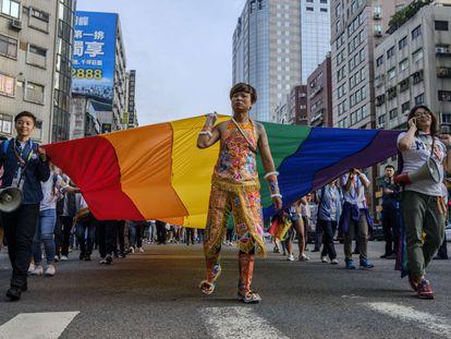 El desfile del Orgullo de Taiwán en 2019