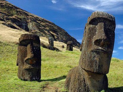 Aún quedan misterios por desvelar de los constructores de los moais de la Isla de Pascua.