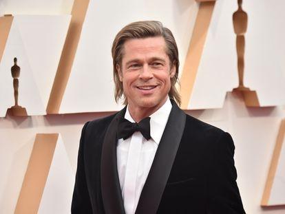 Brad Pitt, en los Oscar el pasado febrero.