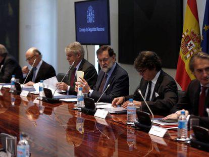 Reunión del Consejo de Seguridad Nacional, hoy.