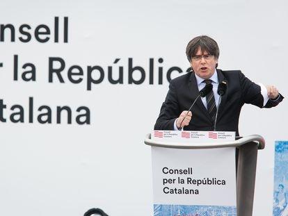 El expresidente Carles Puigdemont, en una imagen de archivo.