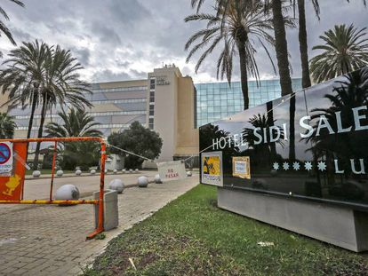 El hotel Sidi Saler